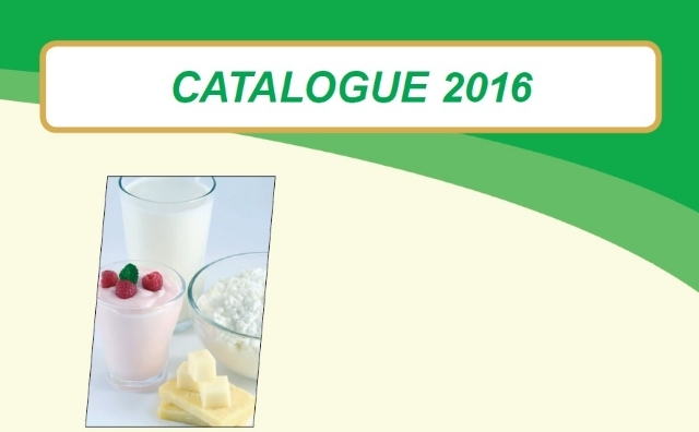 Catalogue 2016 Cheese